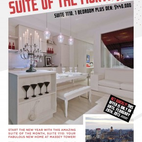 Massey Tower - Suite of the Month