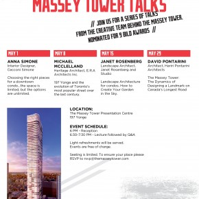The Wednesday Night Massey Tower Talks Series