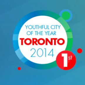 Toronto named the Most Youthful City of the Year for 2014