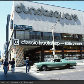 A Snapshot of Yonge and Dundas in the 1970s